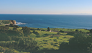 Panoramic ocean view from Point View Film Location Palos Verdes